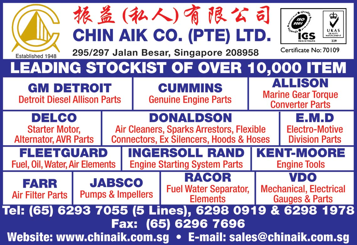 Chin Aik Co. (Pte) Ltd.