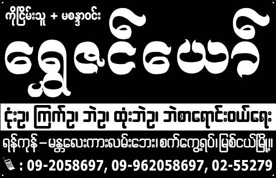 Shwe Zin Yaw
