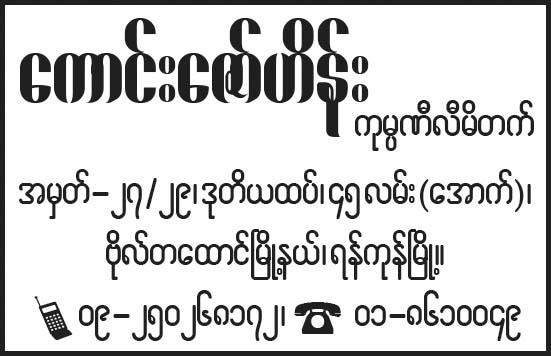 Kaung Zaw Hein Co., Ltd.