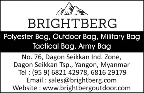 Brightberg Enterprises Myanmar Co., Ltd.