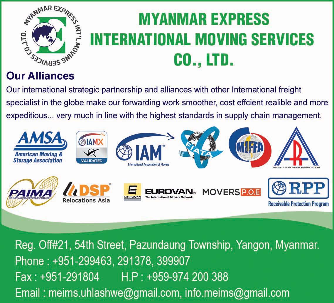 Myanmar Express International Moving Services Co., Ltd.