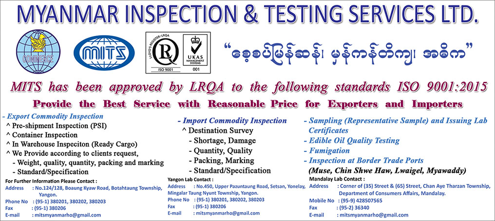 Myanmar Inspection and Testing Services Ltd.