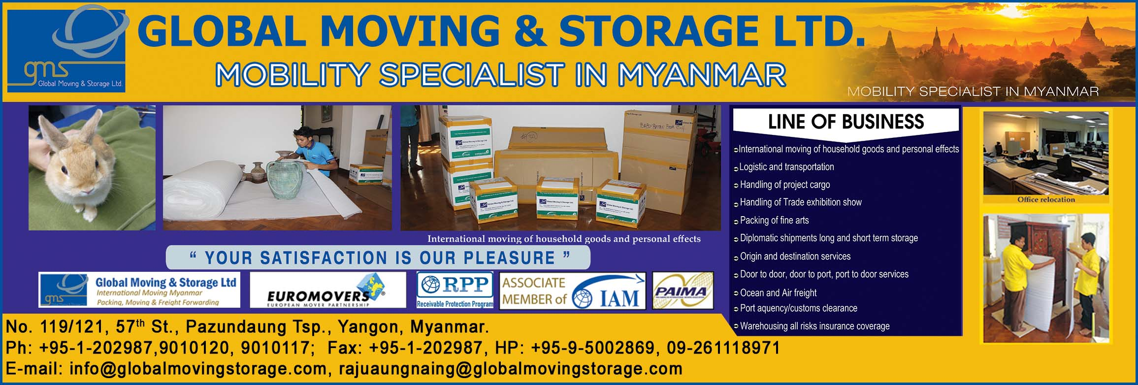 Global Moving and Storage Ltd.