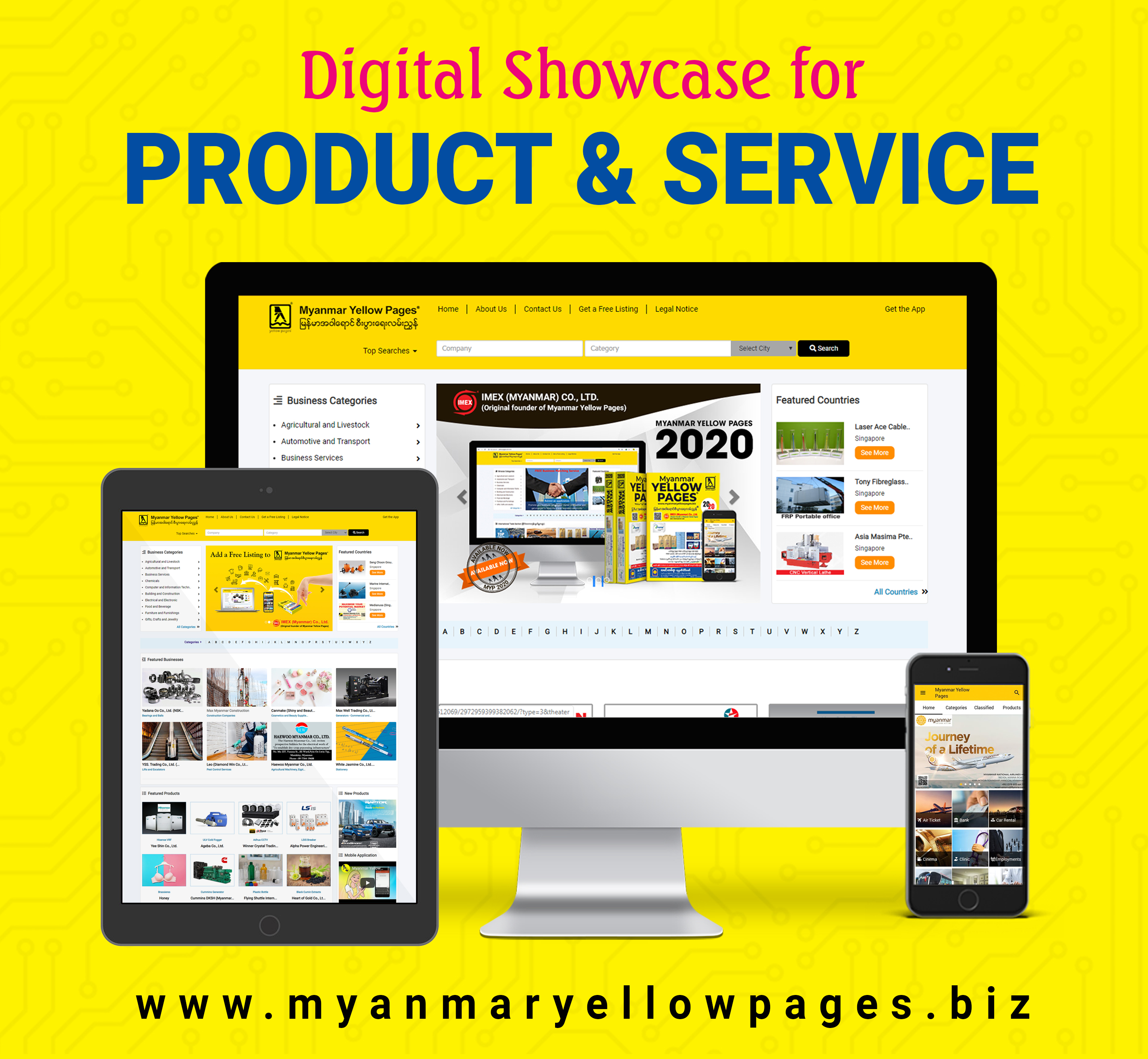 Myanmar Yellow Pages | Business